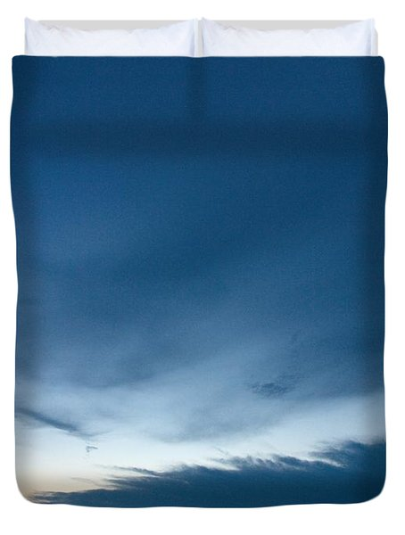 Duvet Cover featuring the photograph Variations Of Sunsets At Gulf Of Bothnia 4 by Jouko Lehto