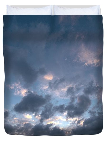 Duvet Cover featuring the photograph Variations Of Sunsets At Gulf Of Bothnia 5 by Jouko Lehto