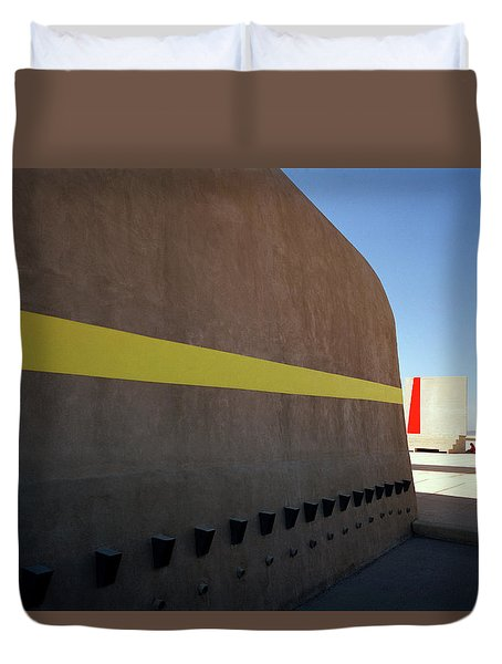 Varini And Le Corbusier  Duvet Cover