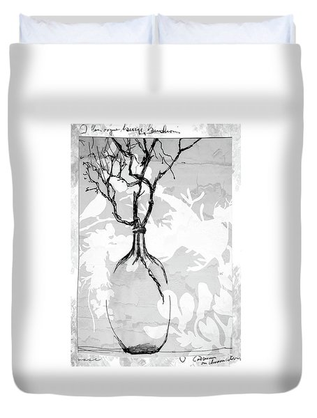 Vase Duvet Cover by Barbara Andolsek