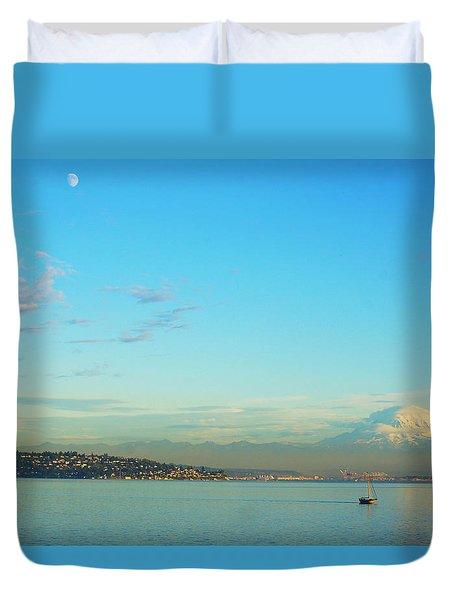 Vashon Island Duvet Cover by Angi Parks