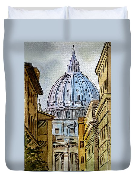 Vatican City Duvet Cover