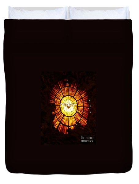 Vatican Window Duvet Cover