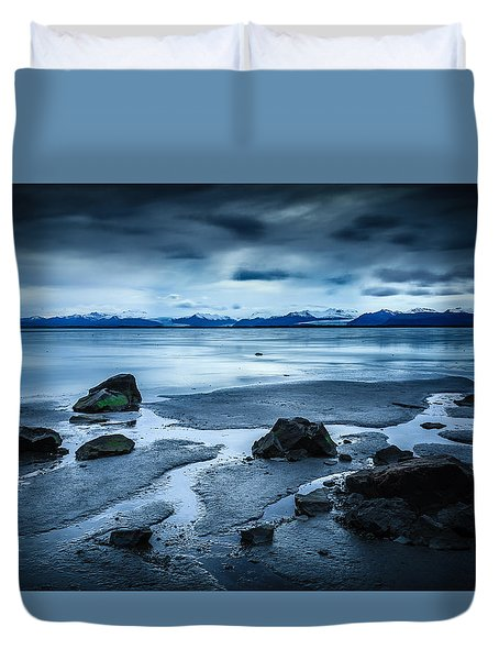 Vatnajokull From Stokksnes Duvet Cover