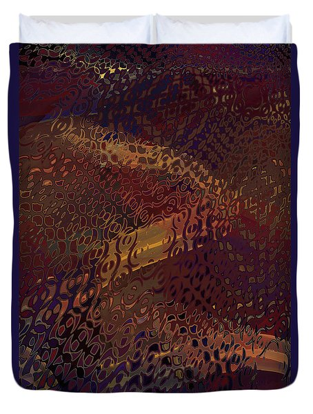 Vegas Carpet Duvet Cover by Constance Krejci