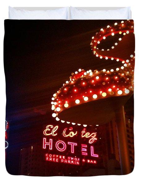 Vegas Neon Duvet Cover