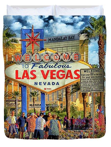 Vegasstrong Duvet Cover