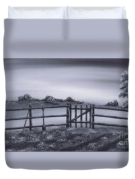 Vegetable Plot Duvet Cover