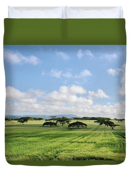 Vegetation Duvet Cover