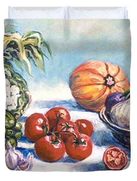 Veggies  Duvet Cover