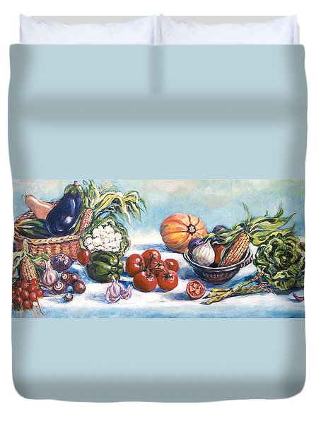 Veggies  Duvet Cover