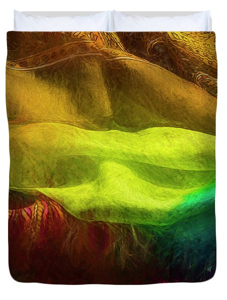 Veiled Mask Duvet Cover