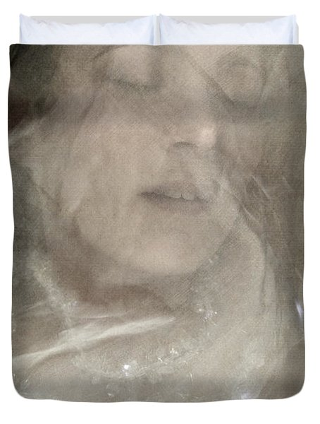Veiled Princess Duvet Cover