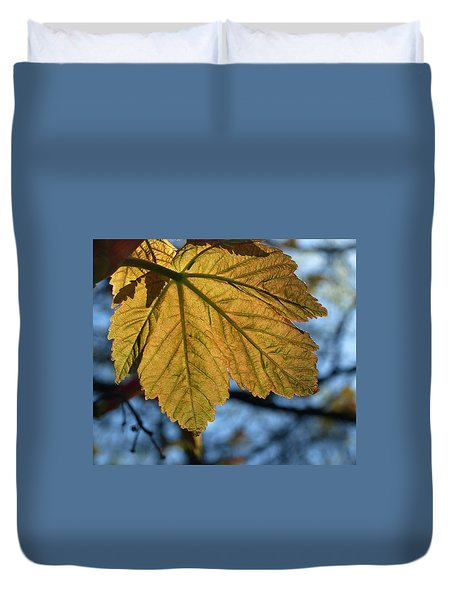 Veinage Duvet Cover