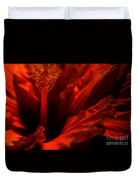 Velvet Seduction Duvet Cover by Sheila Ping