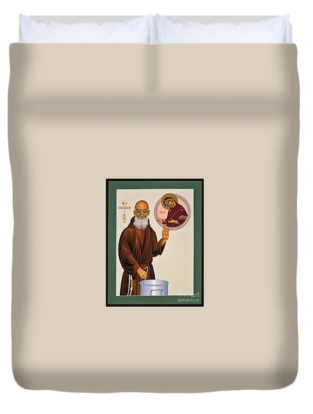 Venerable Fr. Solanus Casey The Healer 038 Duvet Cover
