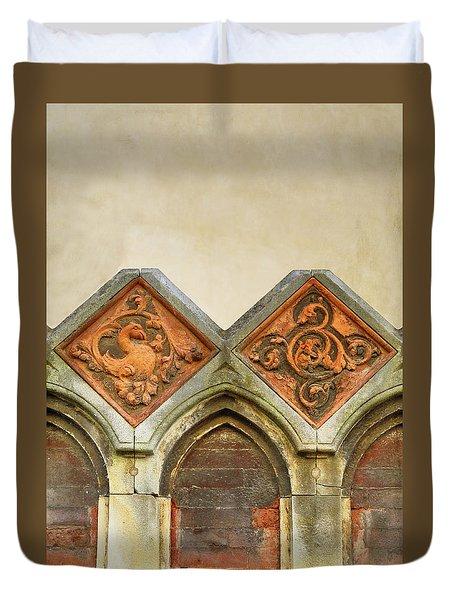 Venetian Architectural Details Duvet Cover