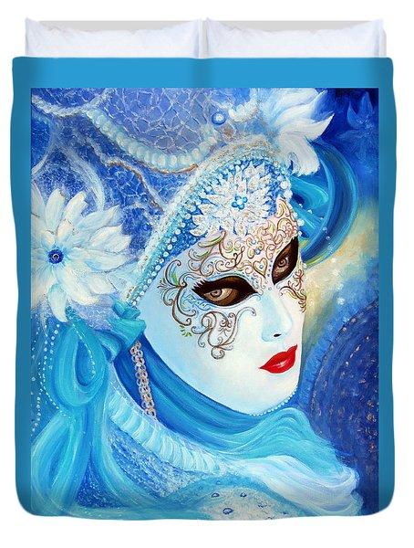 Venetian Carnival Mask 2015 Duvet Cover