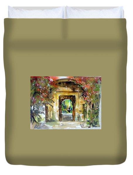 Venetian Gardens Duvet Cover