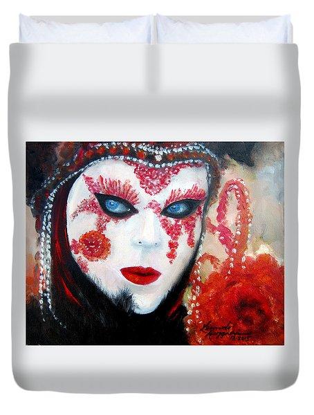 Venetian Tigress Duvet Cover