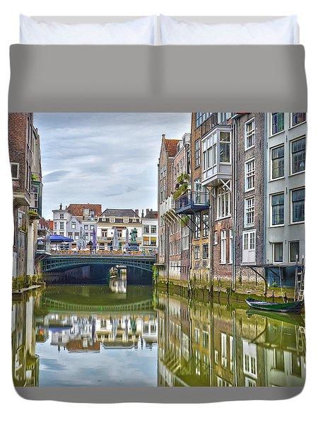 Venetian Vibe In Dordrecht Duvet Cover
