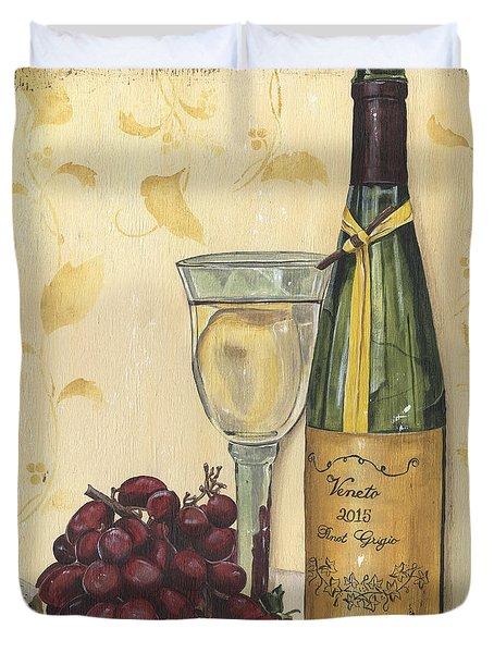 Veneto Pinot Grigio Duvet Cover