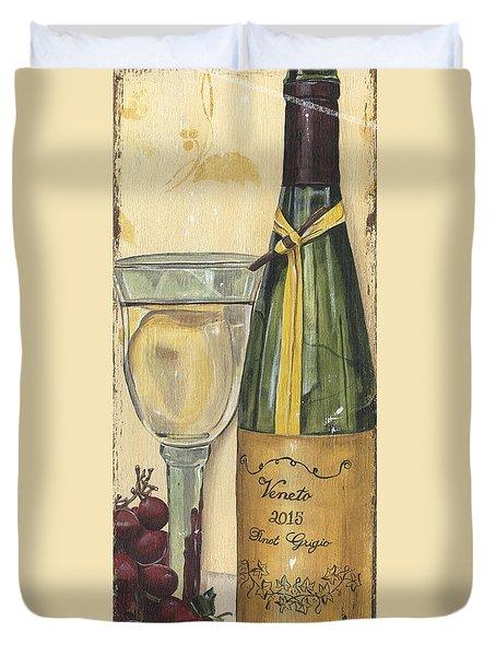 Veneto Pinot Grigio Panel Duvet Cover