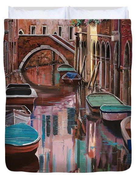 Venezia A Colori Duvet Cover