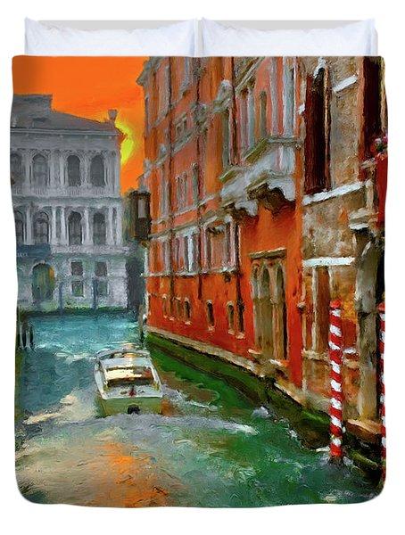 Venezia. Ca'gottardi Duvet Cover
