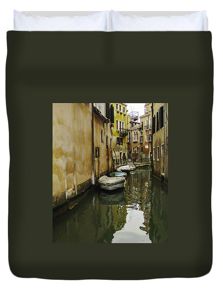 Venice Backroad Duvet Cover