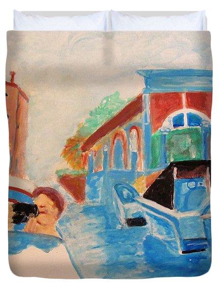 Venice Celebration Duvet Cover