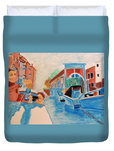 Venice Celebration Duvet Cover