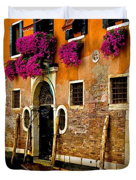 Venice Facade Duvet Cover