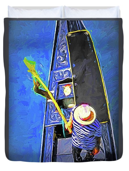 Venice Gondola Series #4 Duvet Cover