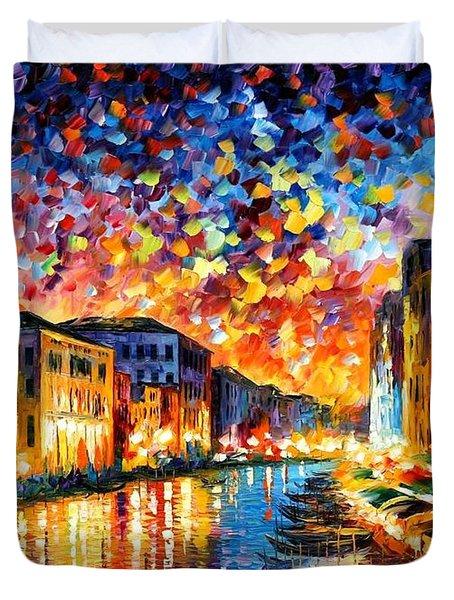 Venice - Grand Canal Duvet Cover
