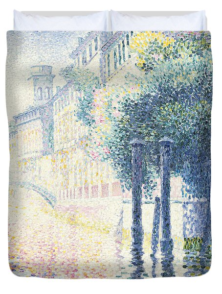 Venice Duvet Cover by Henri-Edmond Cross
