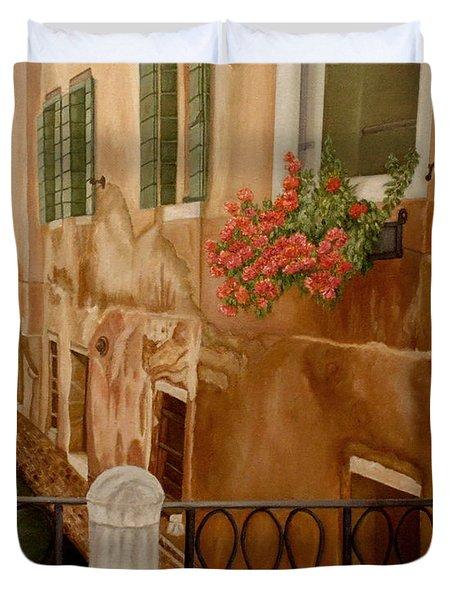 Venice In June Duvet Cover