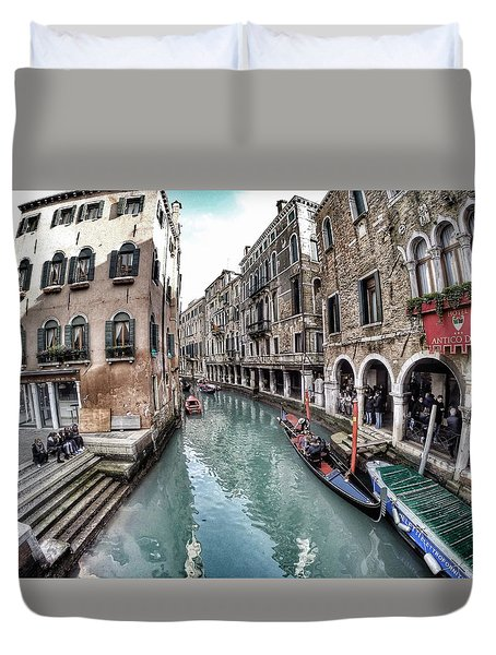 Venice In Wonderland Duvet Cover
