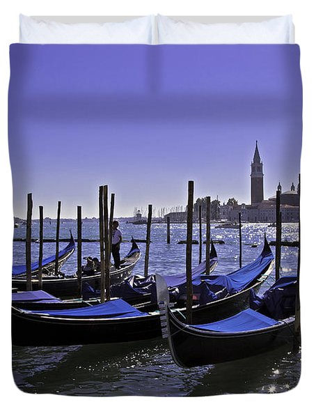 Venice Is A Magical Place Duvet Cover