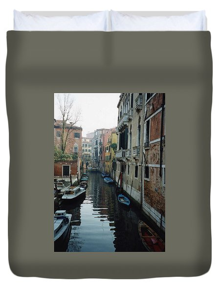 Duvet Cover featuring the photograph Venice by Marna Edwards Flavell