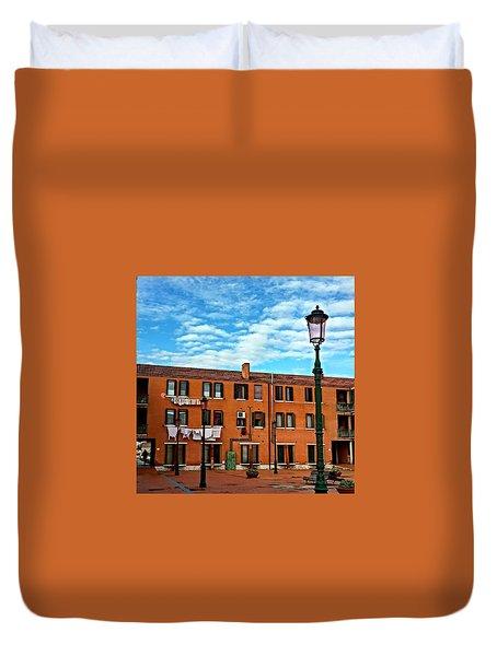 Venice Murano Duvet Cover