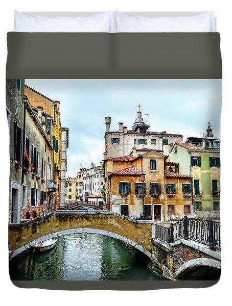 Venice Neighborhood Duvet Cover