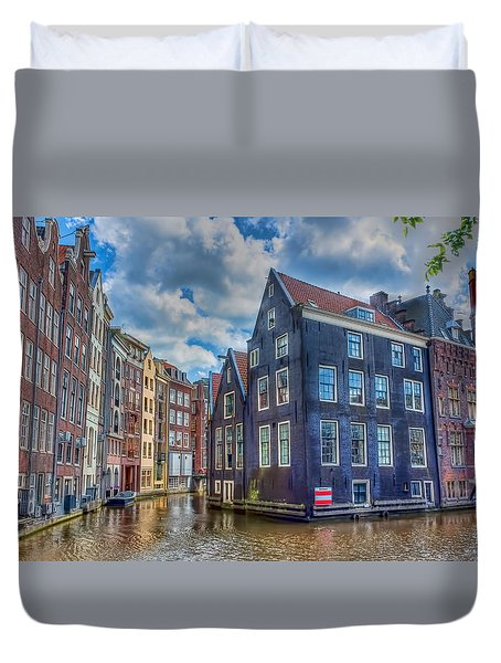 Venice Of The North Duvet Cover