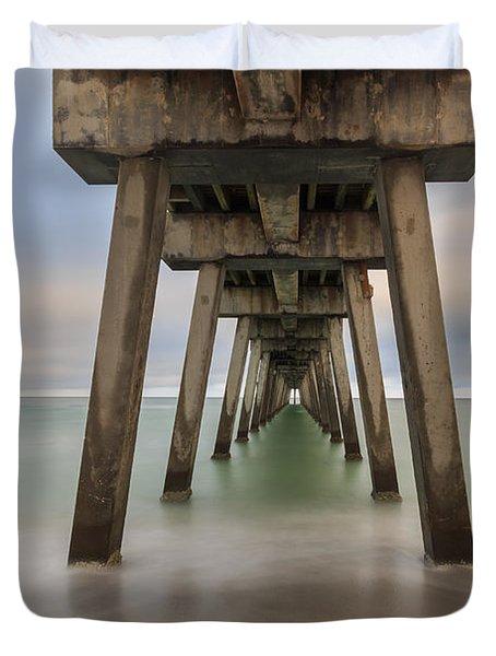 Venice Pier Duvet Cover