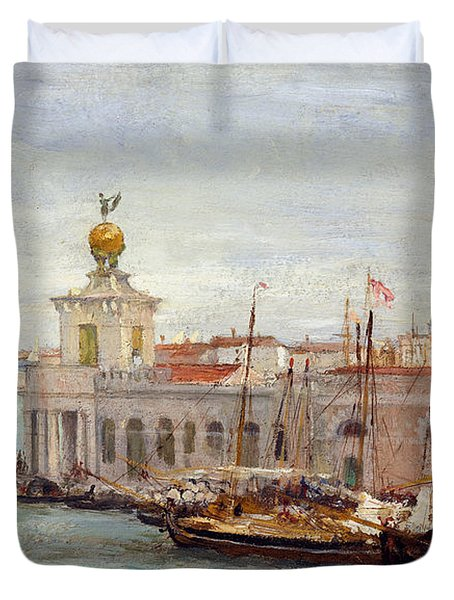 Venice Duvet Cover by Sir Samuel Luke Fields