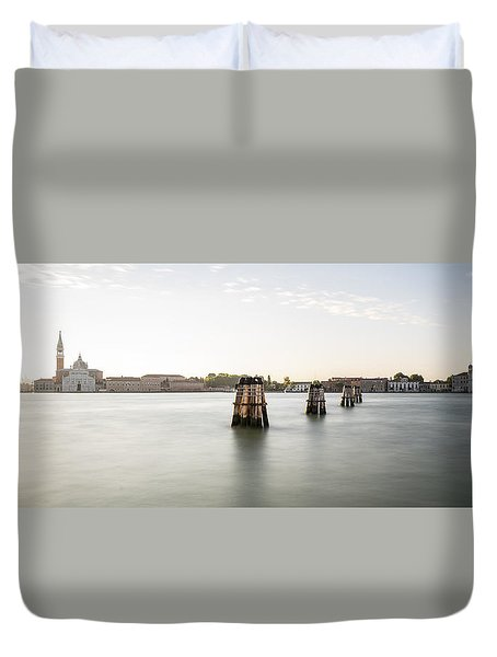 Venice Sunrise 00365 Duvet Cover