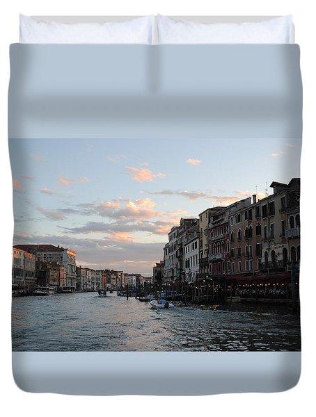 Venice Sunset Duvet Cover