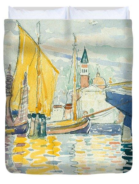 Venice, The Giudecca, 1903 Duvet Cover