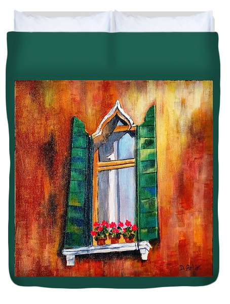 Venice Window Duvet Cover