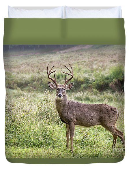 Duvet Cover featuring the photograph Venison by Andrea Silies